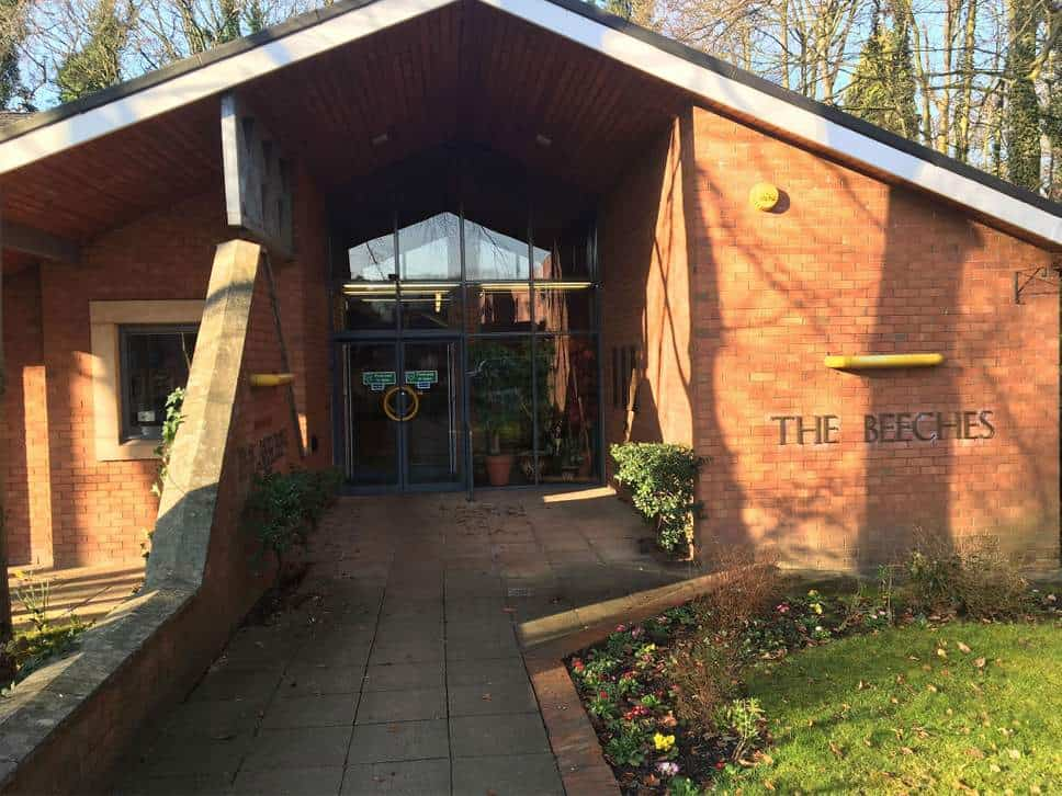 the beeches cannabis clinic manchester seen from the outside