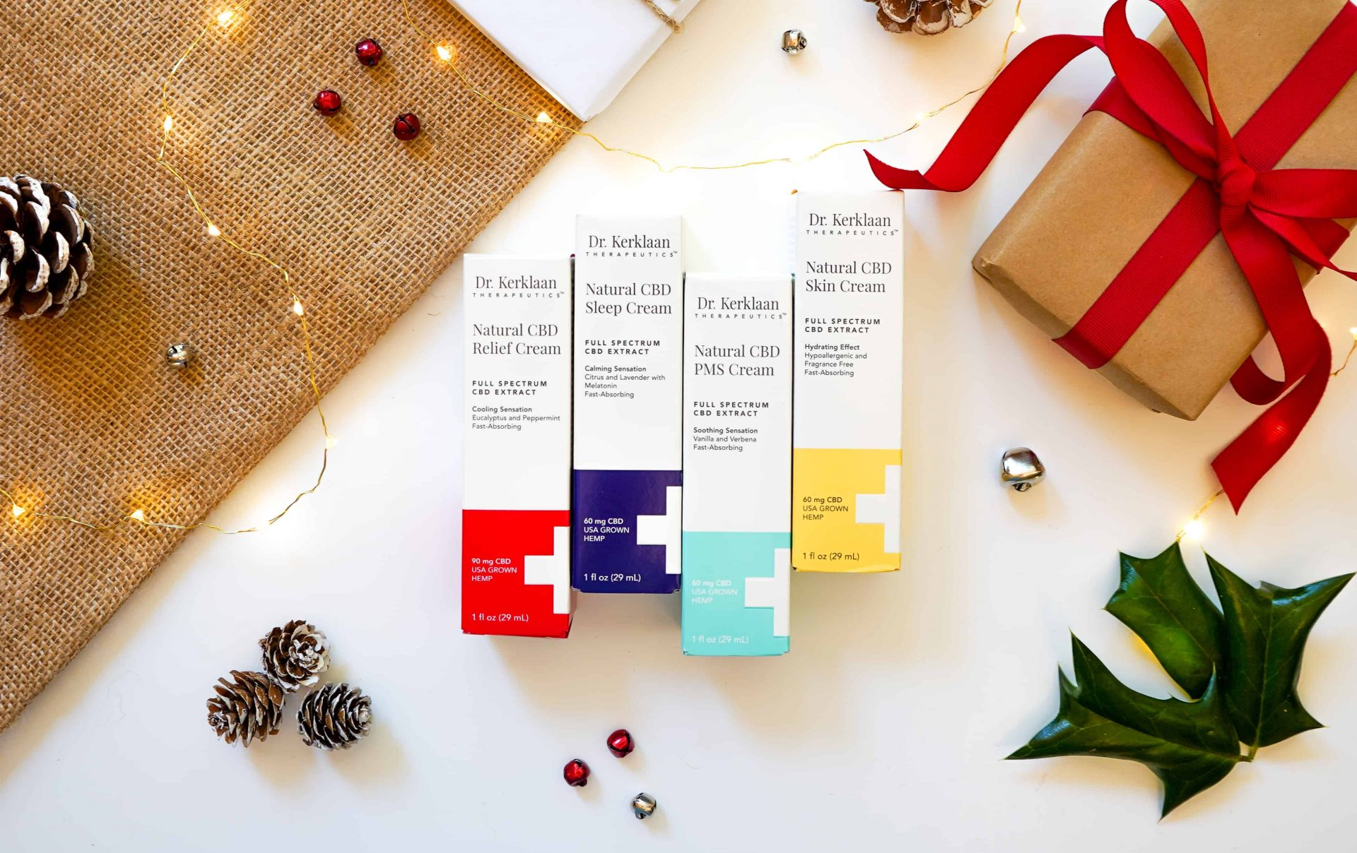 Dr. Kerklaan Therapeutics CBD Christmas gifts
