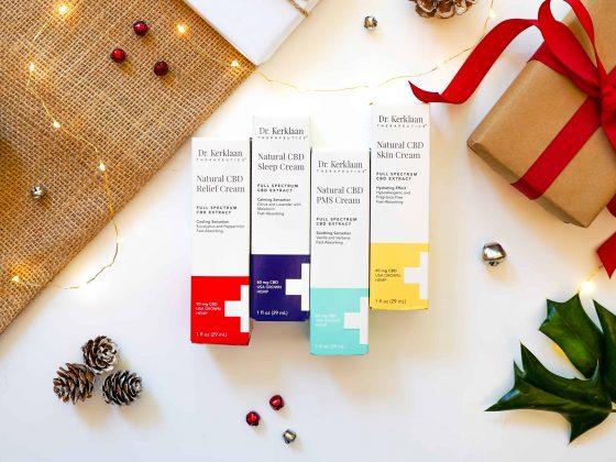 Dr. Kerklaan Therapeutics CBD Christmas gifts