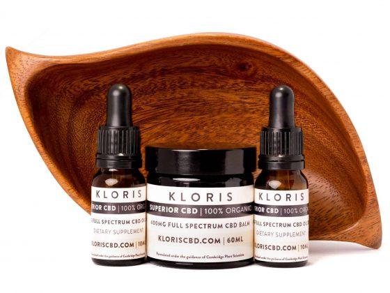 Kloris CBD oils range