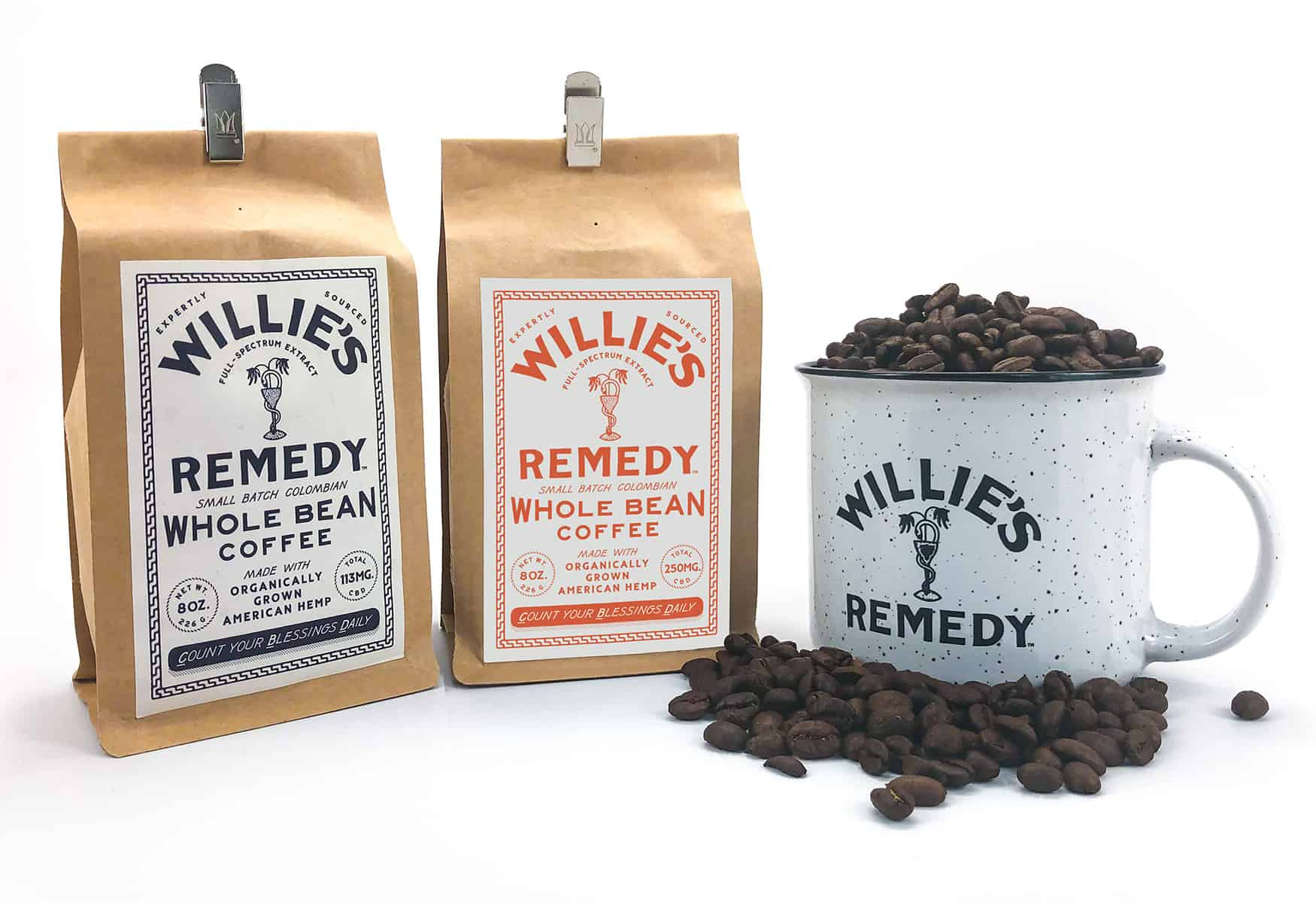 Willie's Remedy coffee
