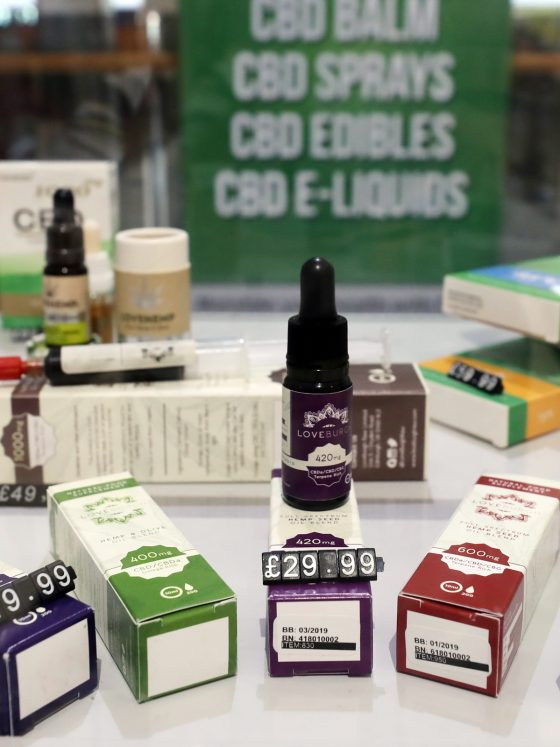 cbd oil for sale in the UK