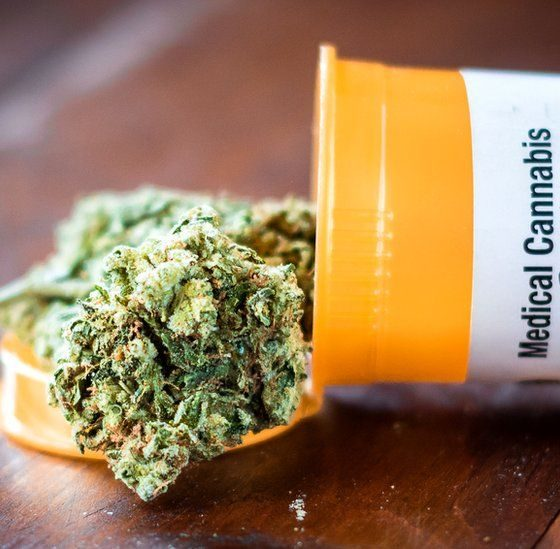 medical cannabis container