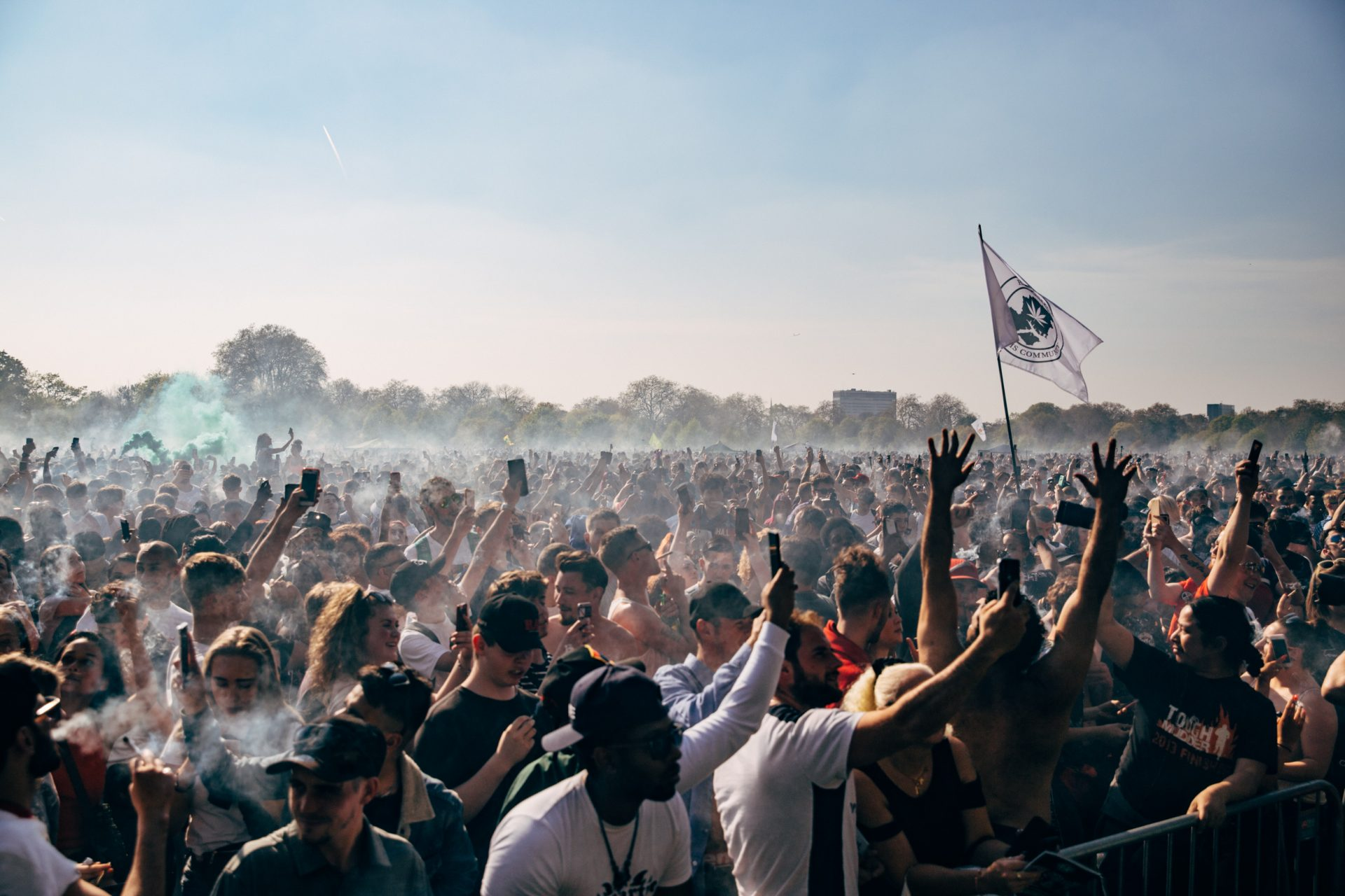 420 cannabis festival in hyde park