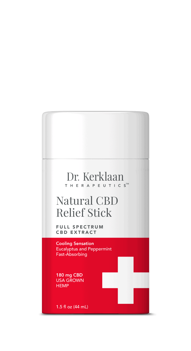 Dr. Kerklaan Therapeutics Natural CBD Relief Stick