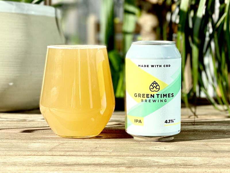 Green times CBD beer