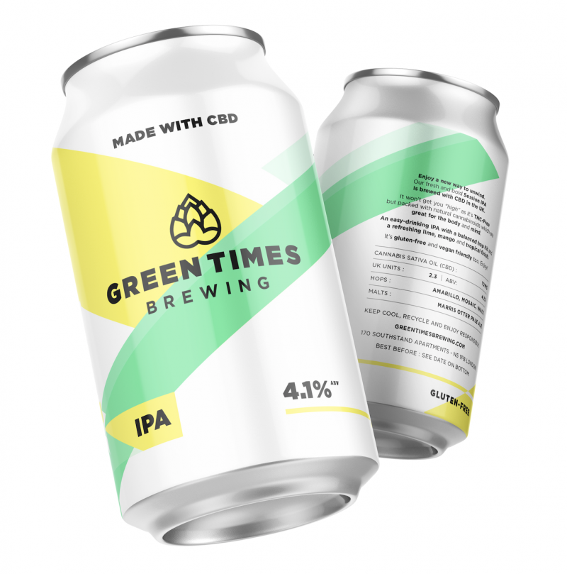 Green Times Brewing CBD IPA Session
