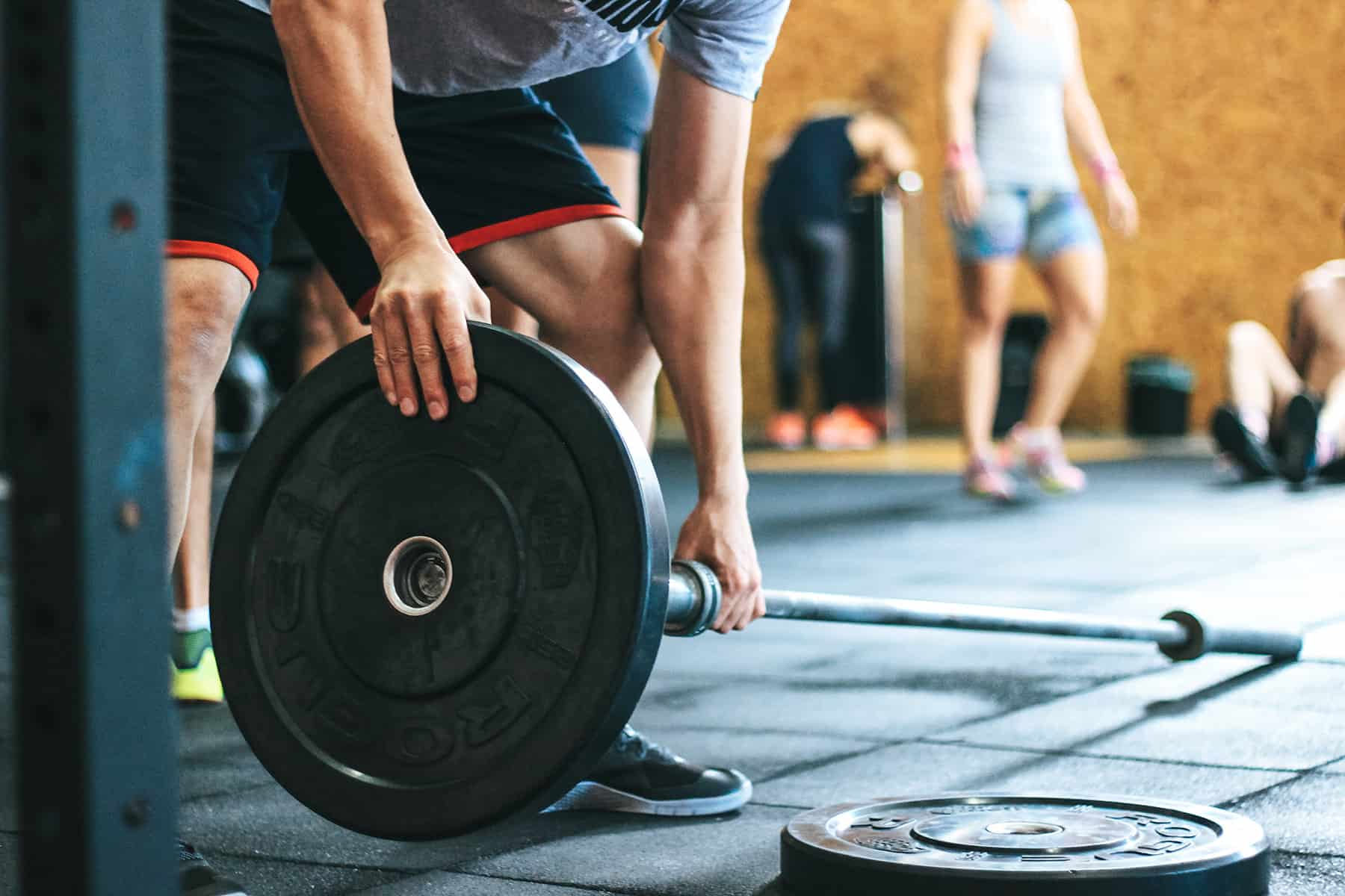 cbd being used during a gym routine
