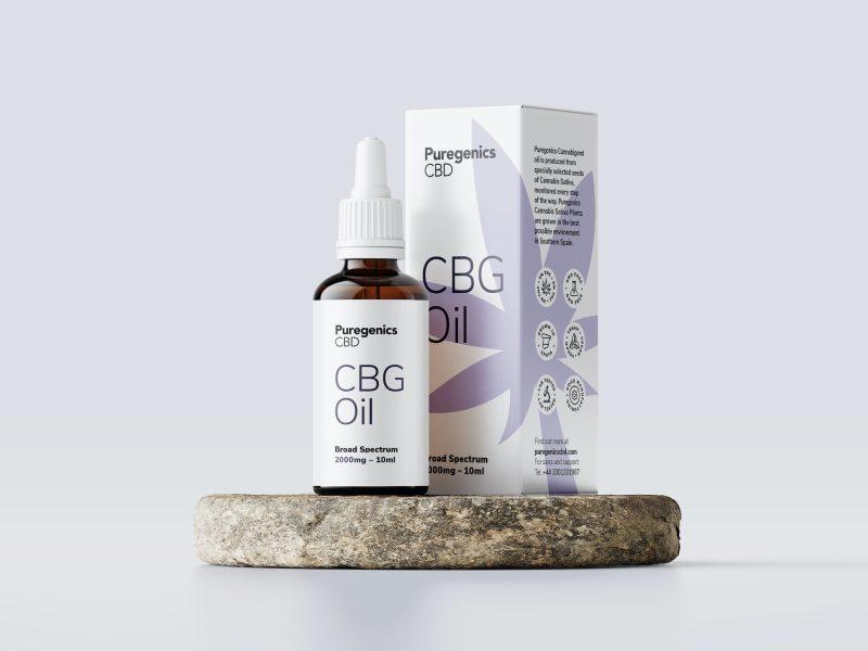 Puregenics CBG oil