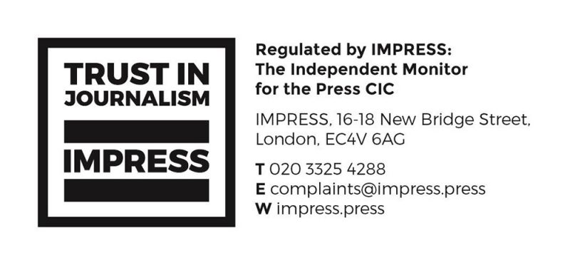 impress logo and contact details