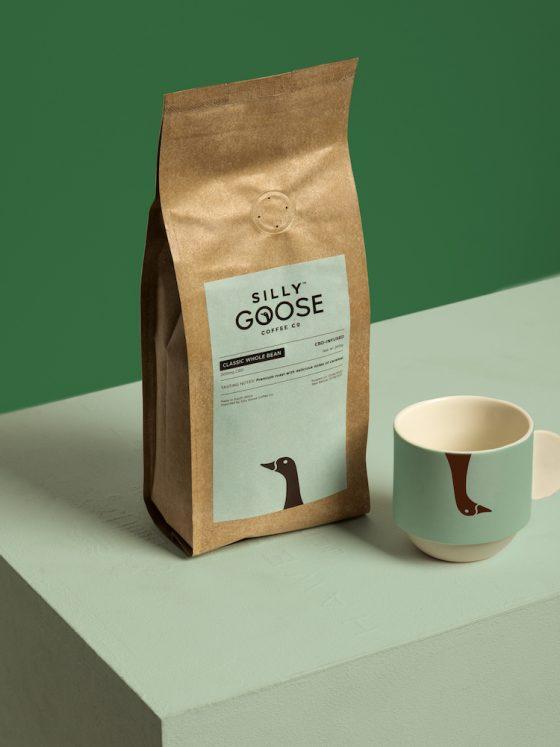 silly goose CBD coffee