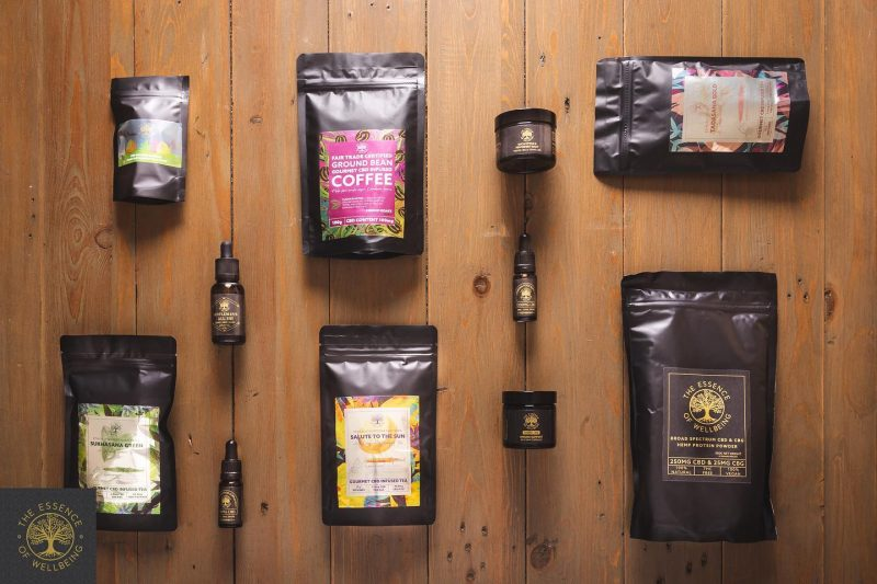 essence of wellbeing product range