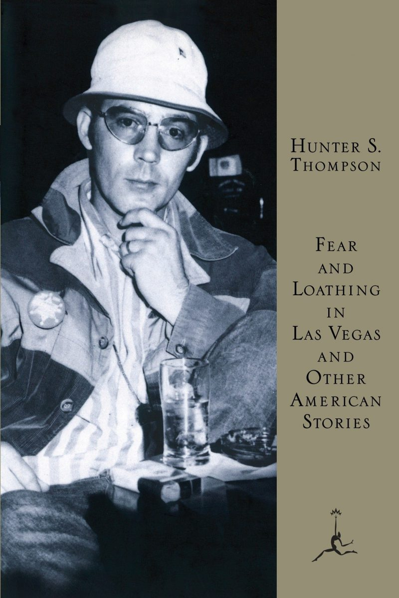 Hunter S Thompson - Fear And Loathing front cover