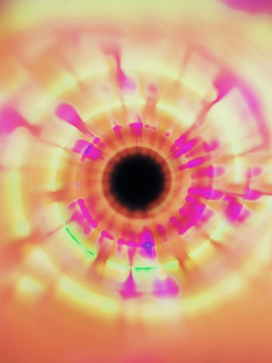 psychedelic light pattern