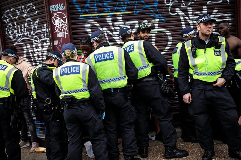 young black men being stopped and searched by police in london