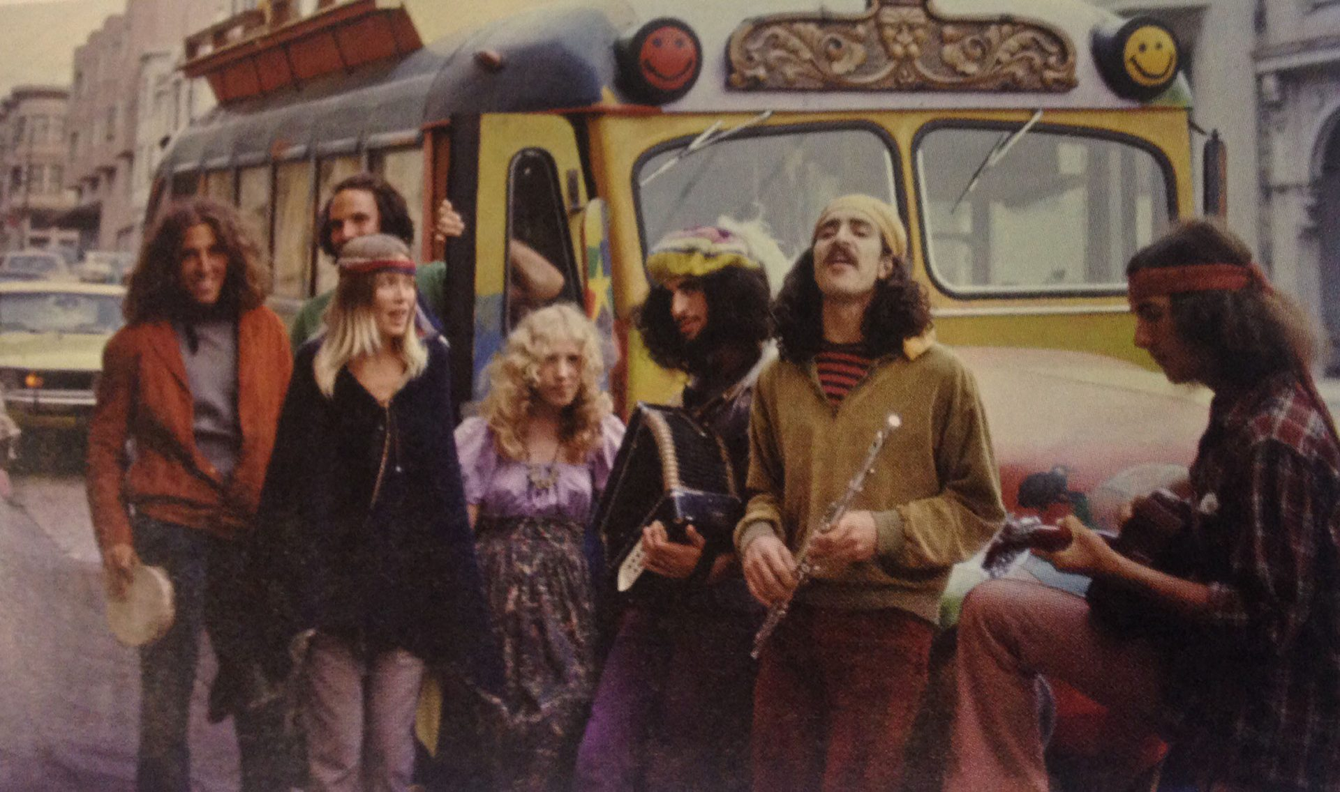 photo from the hippy movement in the 60s