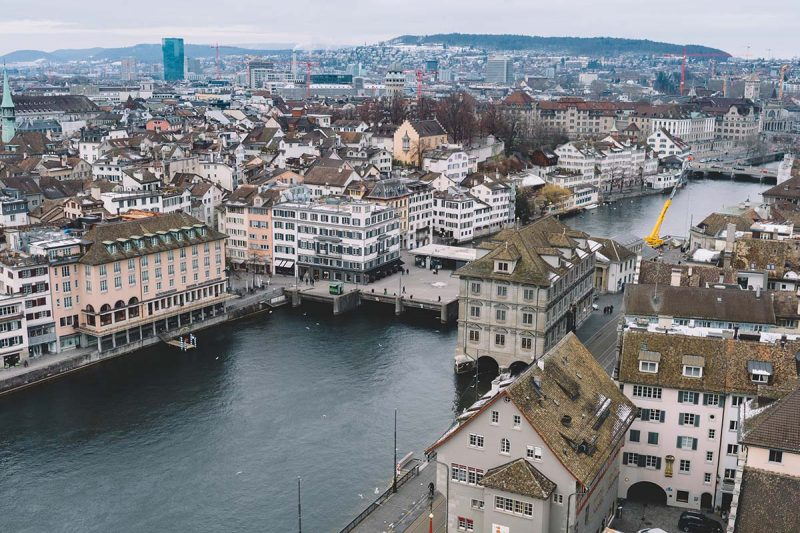 Zurich from above